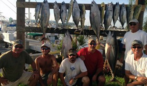 offshore-charter catches