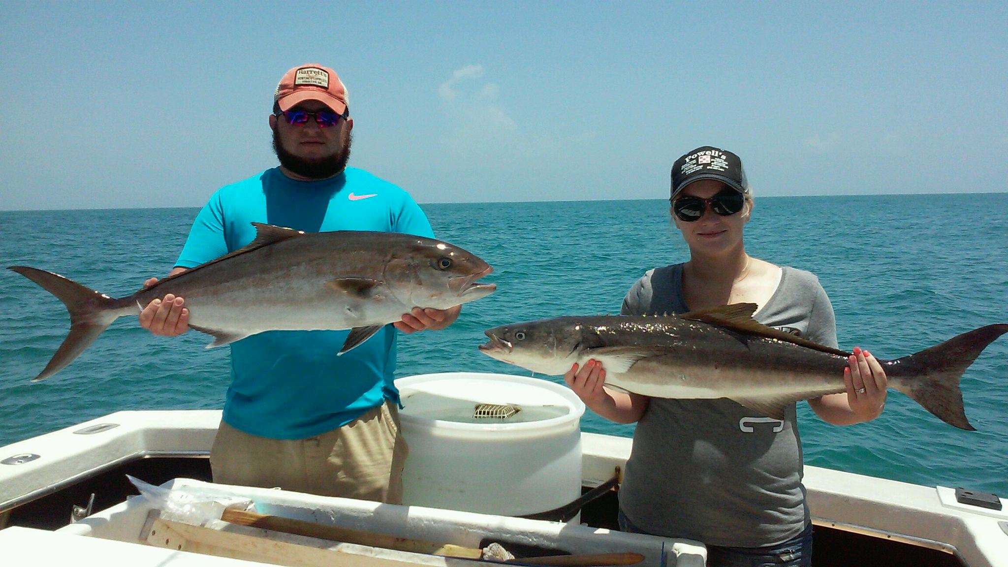 Port Canaveral Cobia and Amber Jack