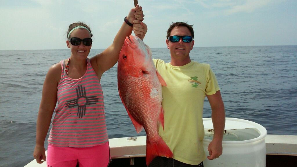 Ofishal Business American Red Snapper
