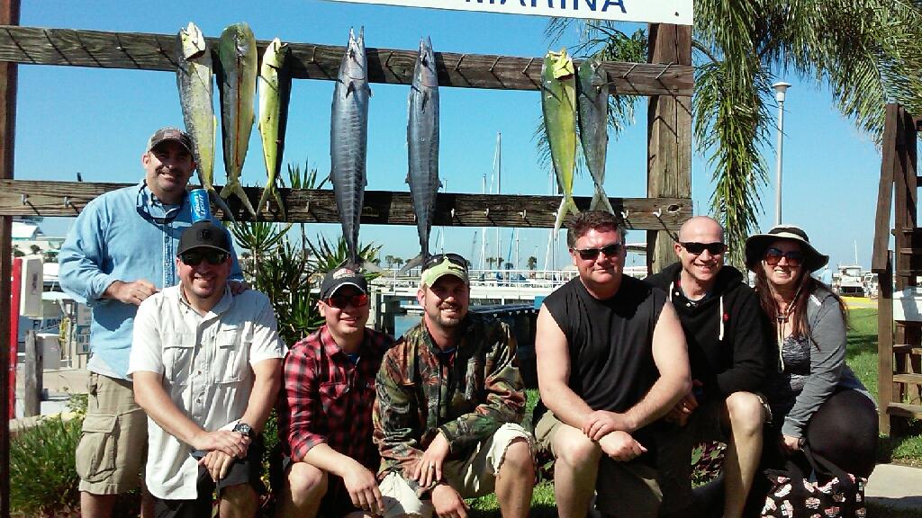 Ofishal Business Group Fishing