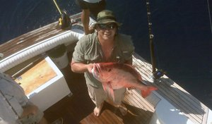 Ofishal Business Charters Offshore Snapper